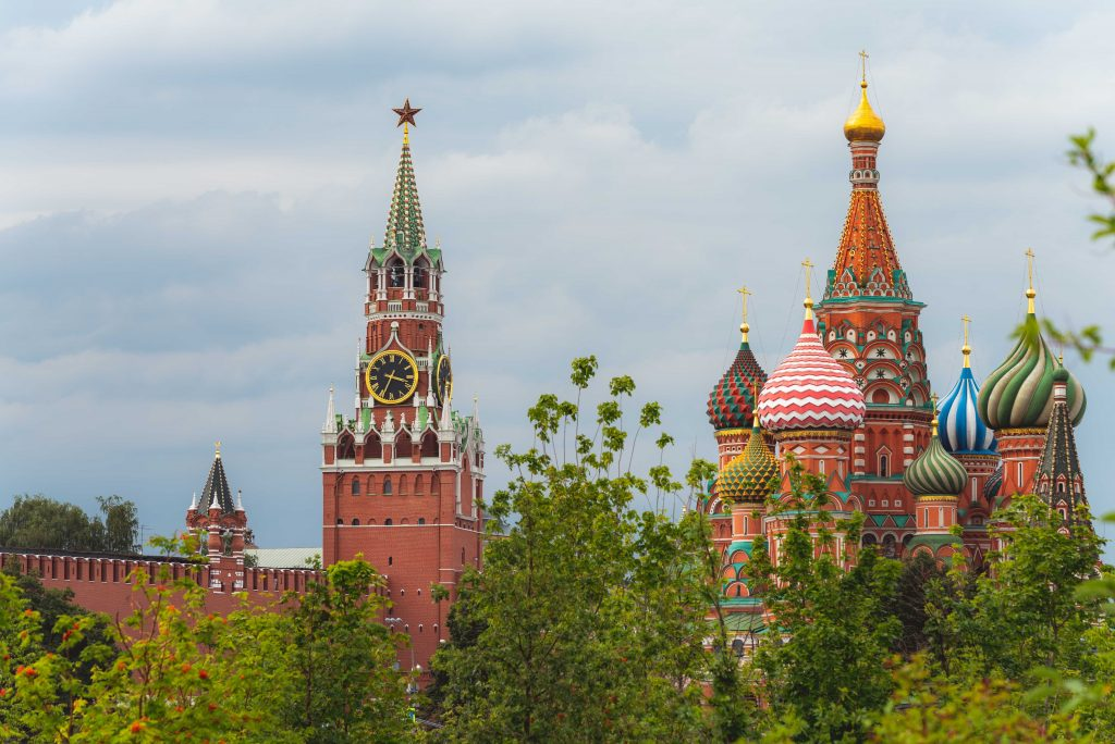 Visit Saint Basil's Cathedral in Moscow