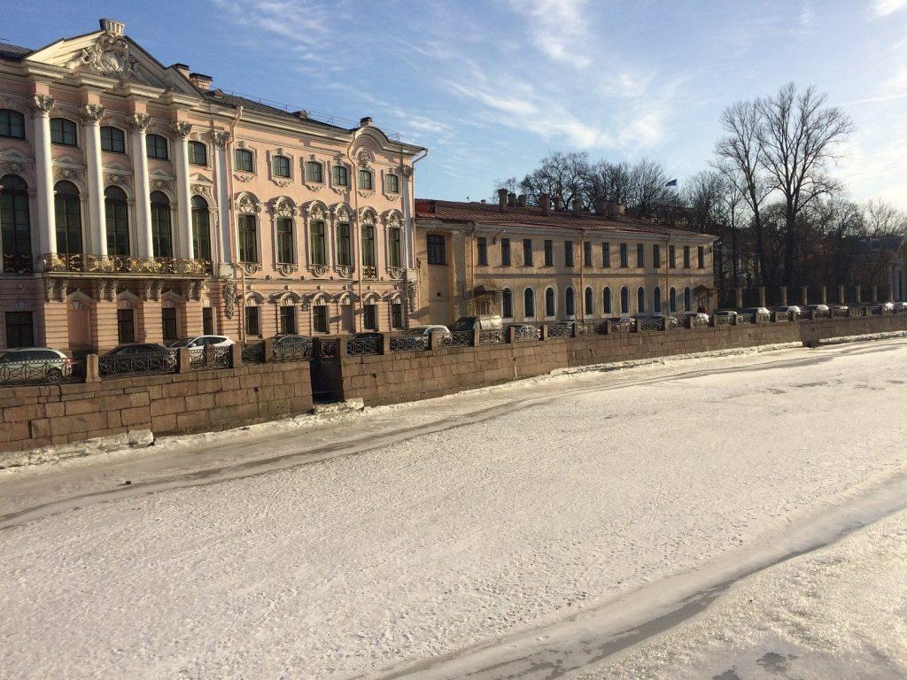winter December January February St Petersburg