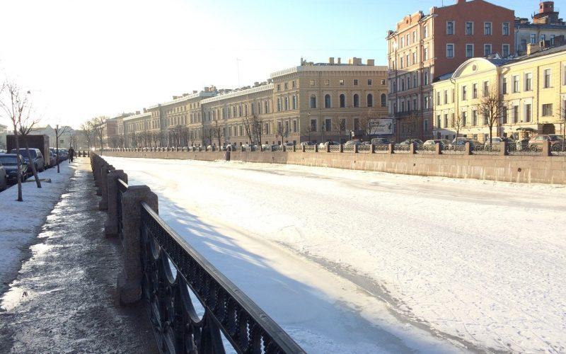 St Petersburg in winter