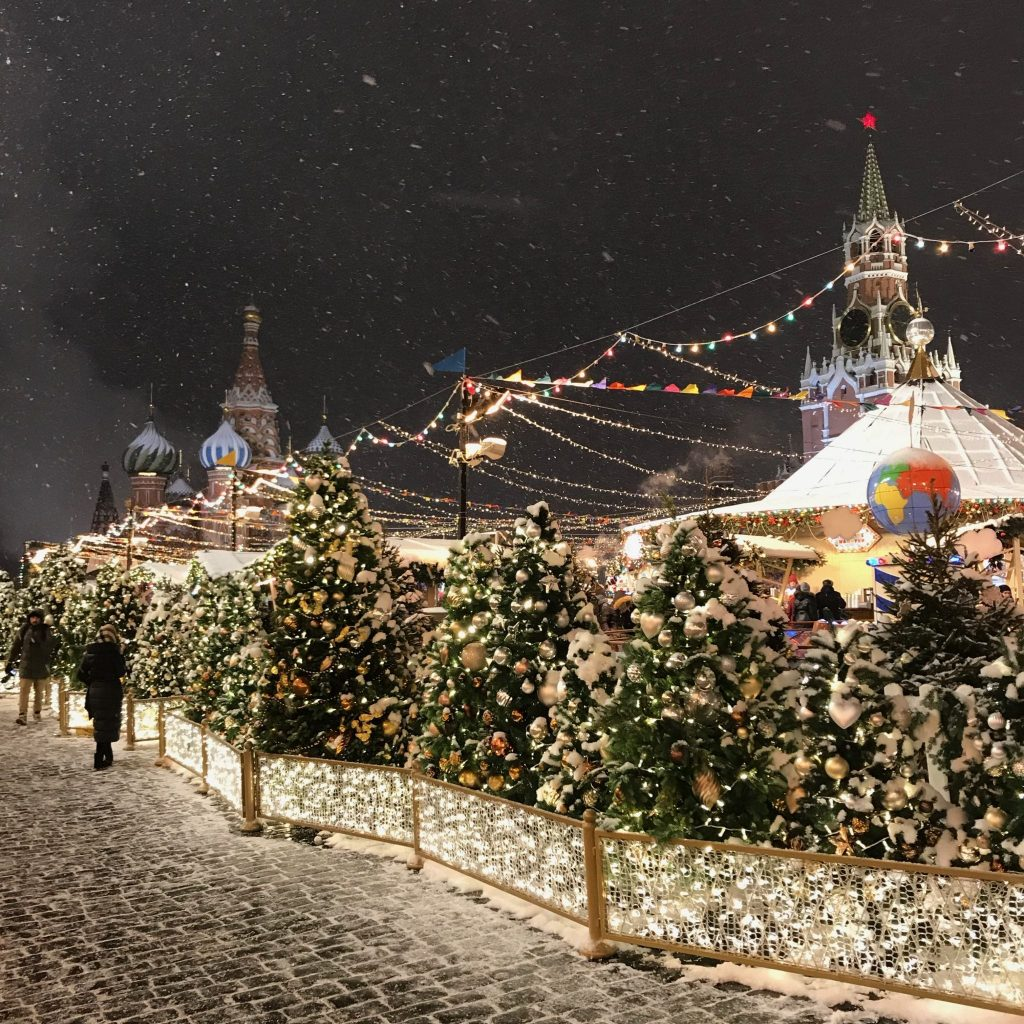 Moscow winter blog Julie