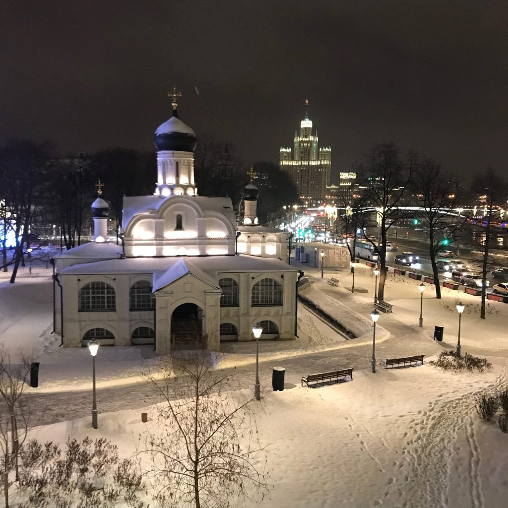 Christmas and New Year in Moscow blog