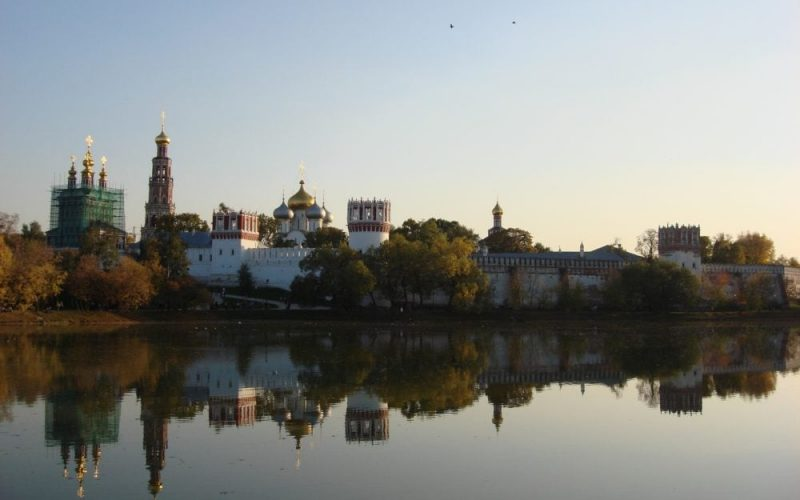 Visit Novodevichy Convent and cemetery