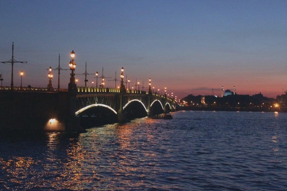 white nights of St Petersburg