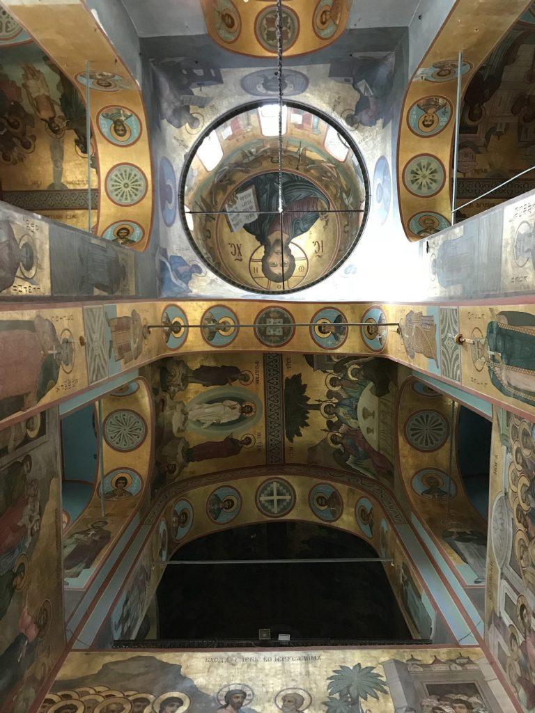 Veliky Novgorod Cathedral inside
