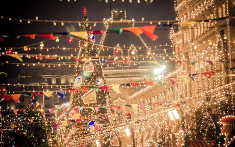 Christmas and New Year in Moscow