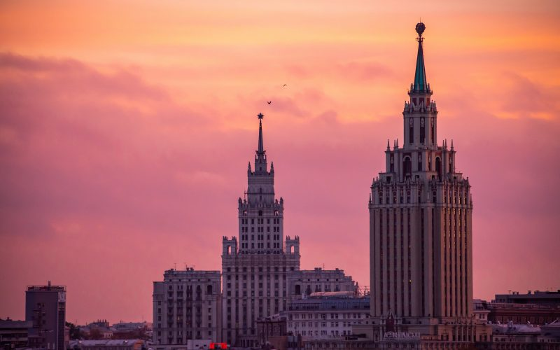 Visit Moscow and St Petersburg in one week