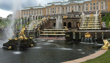 Peterhof Palace gardens and fountains Tickets
