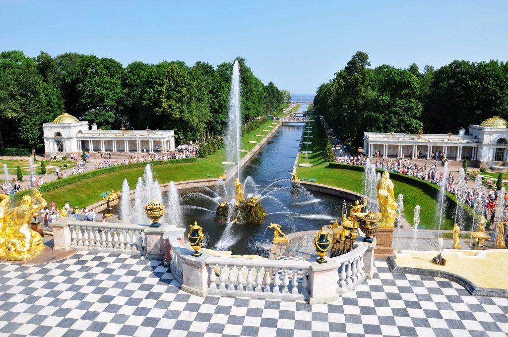 Visiting Peterhof Palace St. Petersburg